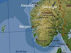 Bergen Vicinity Map Encartajpg - Norway encarta map